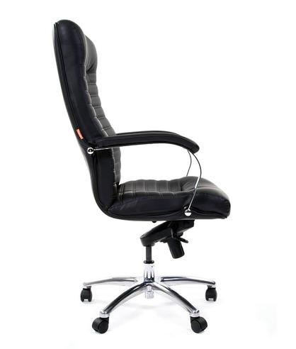 Кресло руководителя CHAIRMAN 480 экокожа Черный