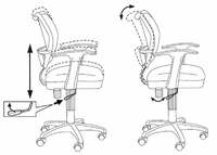 Кресло офисное Бюрократ Бюрократ CH-797AXSN/26-21