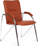 Кресло посетителя CHAIRMAN 850 Terra 111 коричневый