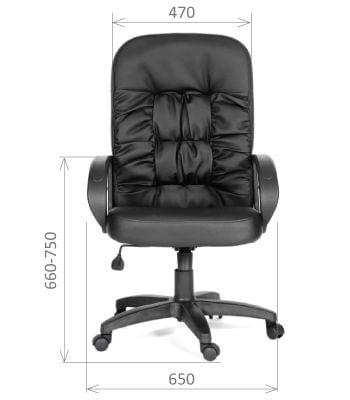 Кресло руководителя CHAIRMAN 416 ЭКО матовый