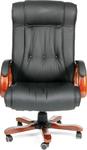 Кресло руководителя CHAIRMAN 653 кожа черная