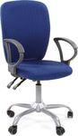 Офисное кресло для оператора CHAIRMAN 9801 черно-голубой