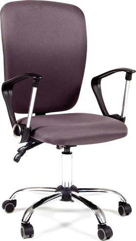 Офисное кресло для оператора Chairman CHAIRMAN 9801 Chrome темно-серый