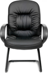 Кресло для посетителя Chairman Chairman 416V Черное Эко
