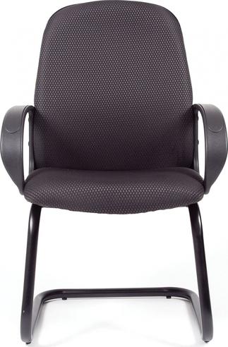 Кресло для посетителя CHAIRMAN 279V JP 15-1 черно-серый
