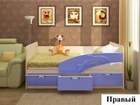 """ФН- Детская кровать  800х1600 """"Дельфин-3D"""" МДФ"""